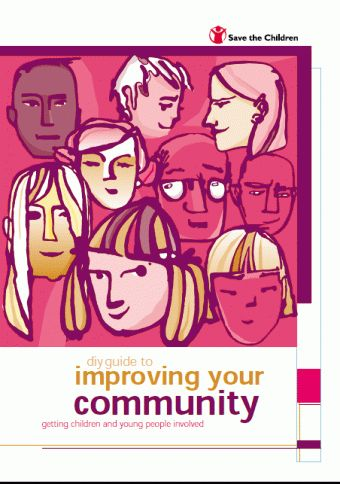 This guide is based on practical experience. It provides tried and tested methods of working, for adults interested in encouraging young people to become actively involved in their local community and its regeneration. The guide is aimed at adults in the public sector, in a voluntary organisation, or in a paid or volunteer role, working to promote children's participation and rights.