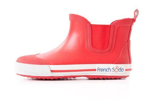 Ryder Red Short Gumboot