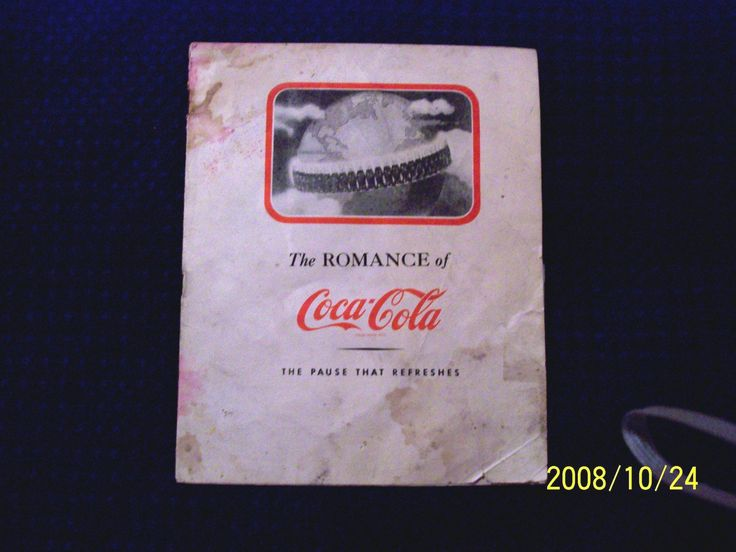 1960's Story of Coca Cola Booklet Insert from a Newspaper-Collectible Item by ThriftyMidge on Etsy