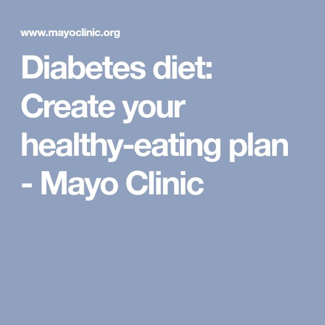 how to create a diabetic meal plan