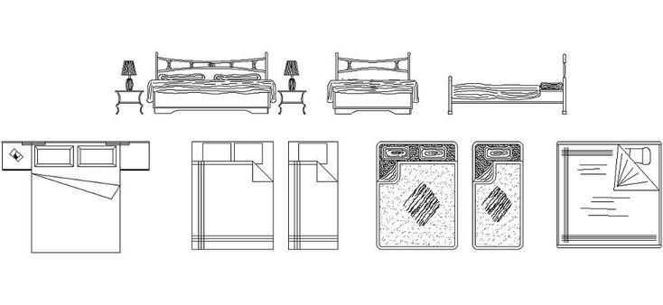 Dwg Adı : Dwg yatak tefrişleri  İndirme Linki : http://www.dwgindir.com/puanli/puanli-2-boyutlu-dwgler/puanli-mobilya-ve-ekipmanlari/dwg-yatak-tefrisleri.html
