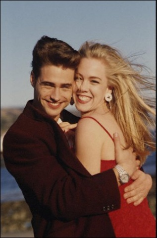 Beverly Hills, 90210: 90210 Kelly, Beverlyhills90210, Celebrities Favorite, Favorite Fiction, Beverly Hills 90210, 90S, Bh 90210, Tv Couples, Jenny Garth