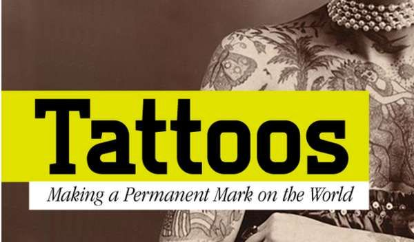 The Best Health Tattoo Infographic Tells the History of Tattoos trendhunter.com