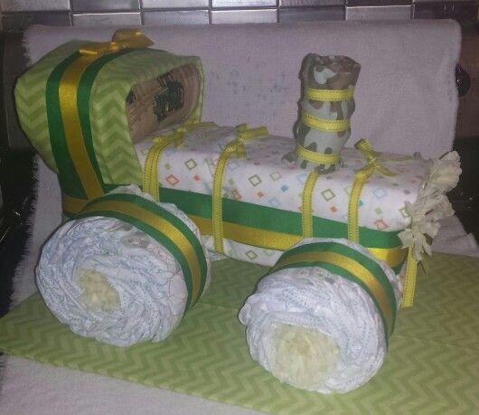 John Deere Diaper Tractor : Ideas about diaper tractor on pinterest