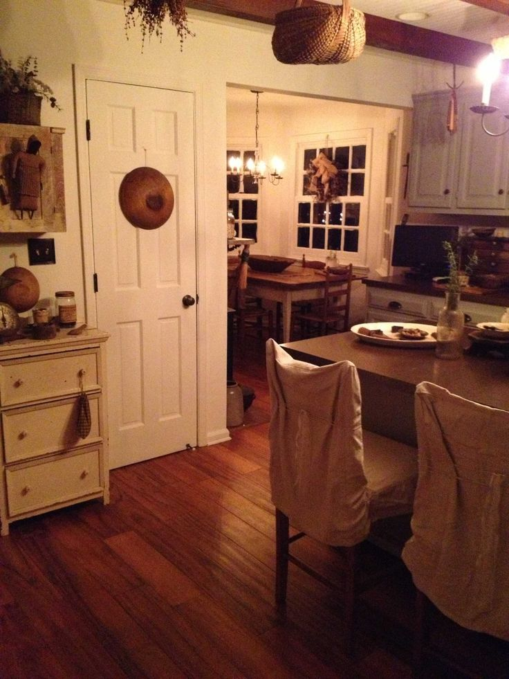 625 Best Primitive Colonial Kitchens Images On Pinterest