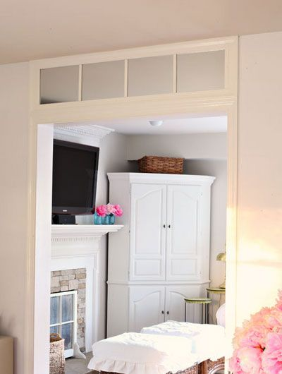 Fake Window Above Doorway 20 Budget Friendly Diy Home