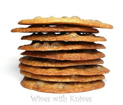 Tate's Bake Shop Chocolate Chip Cookies | Wives with Knives--- flat out fantastic! The best crispy cc cookie I have ever made