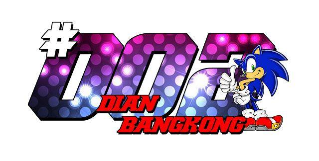 Stiker Sonic Racing by dian bangkong