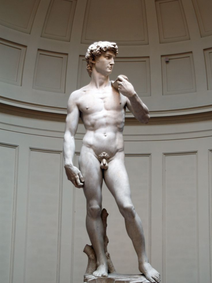 The original Statue of David by Michelangelo- Florence, Italy (2006)