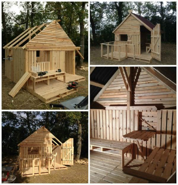 19 Pallet Teenager Cabin Hideaway Following the popularity ofthe first pallet cabin I made in August 2013, I decided to build a19 Pallet Teenager Cabin Hideaway.This time, the cabin is larger and better suited for teenagers. My bigger, badder, 19 Pallet Teenager Cabin Hideaway: The simplest way for me to plan and build this project was to use new pallets...