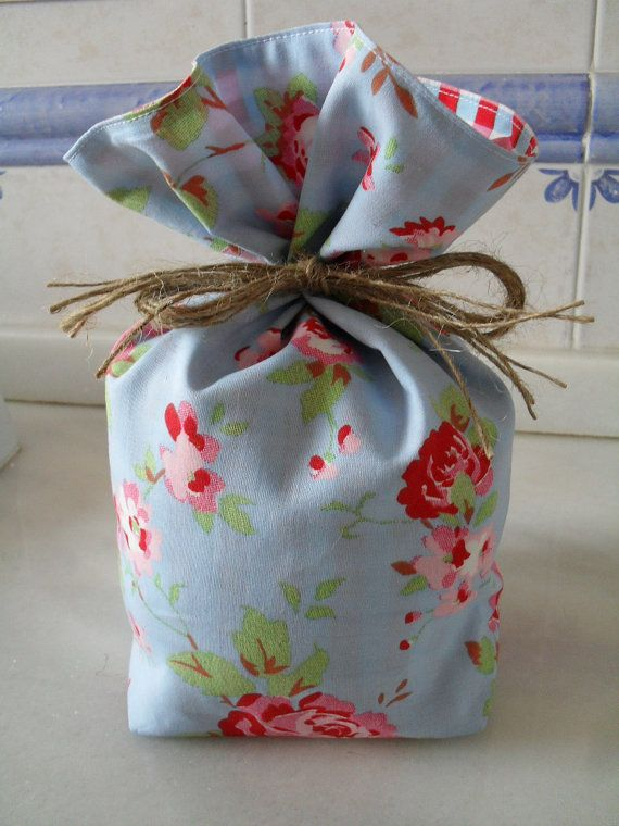 Cath Kidston for Ikea Blue Rosali Floral & Check by cushncraft