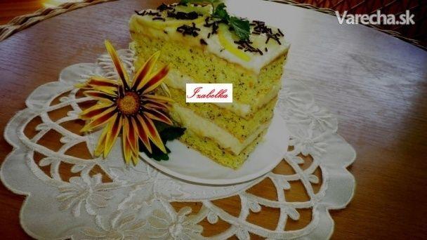 Makovo-citrónové rezy (fotorecept) - Recept