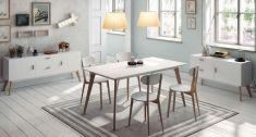 Tables à Manger de Style Nordique : Collection SUÈDE