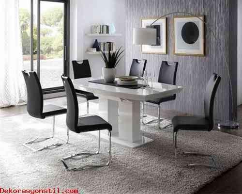 cool Klasik ve Modern Yemek Odası Modelleri