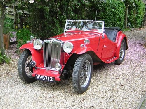 MG TC 1948, on Car And Classic UK [C451065]