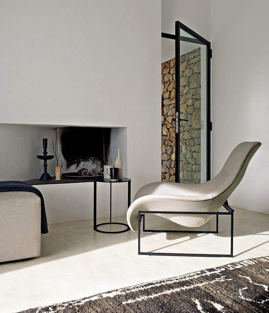 Mart chair and Frank Table by Antonio Citterio for B&B Italia
