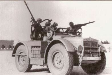 Italian AS 37 light truck, North Africa WWII, pin by Paolo Marzioli