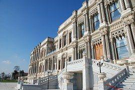 Palacio De Çırağan, Pavo, Estambul