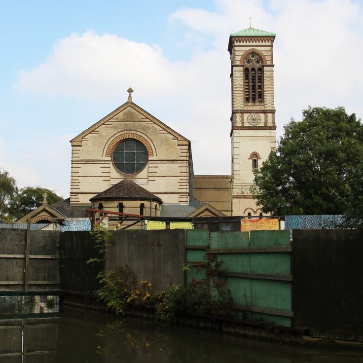 St Barnabas church, Jericho, Oxford
