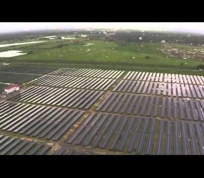 Indian airport becomes world's first to operate on solar power