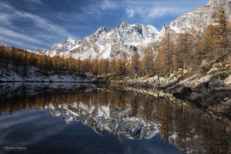 Lago Nero - Autunno al Lago Nero, Alpe Devero.