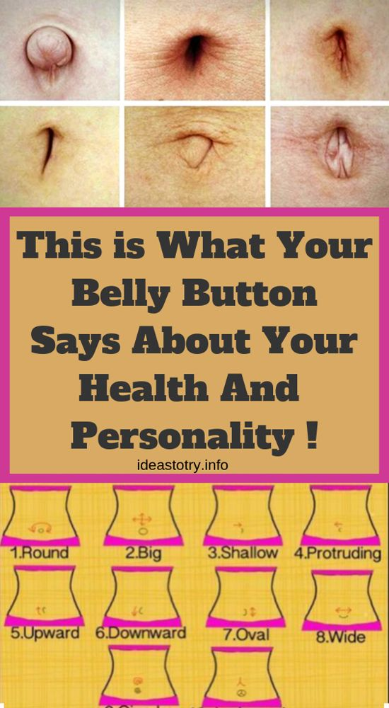 This Is What Your Belly Button Says About Your Hea…