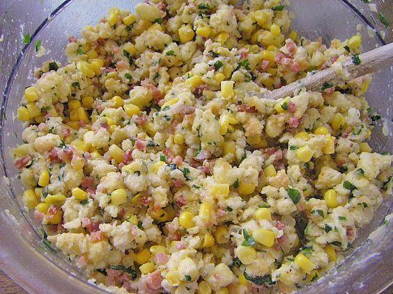 Mais- und Speck-Füllung (für gefüllten Truthahn)