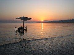Sunrise, Grecia, Corfu, Roda, De Viaje