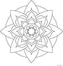 Image result for lotus mandala simple colouring pie graph chart wedge