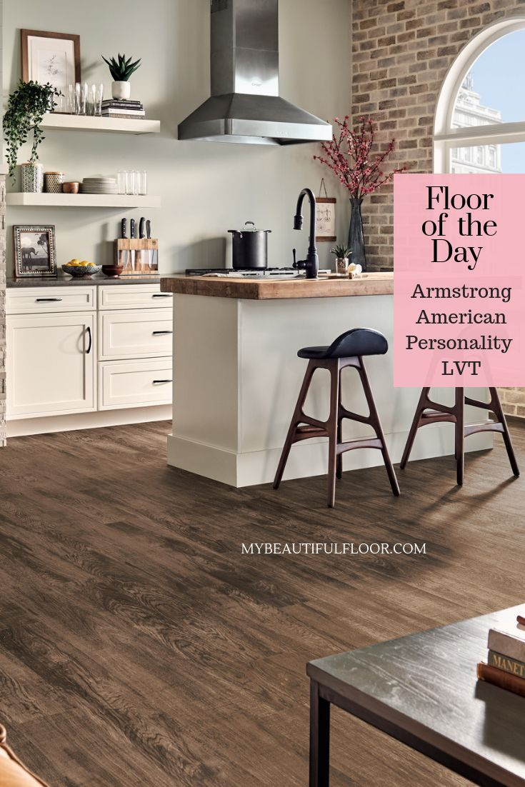 Armstrong American Personality LVT flooroftheday