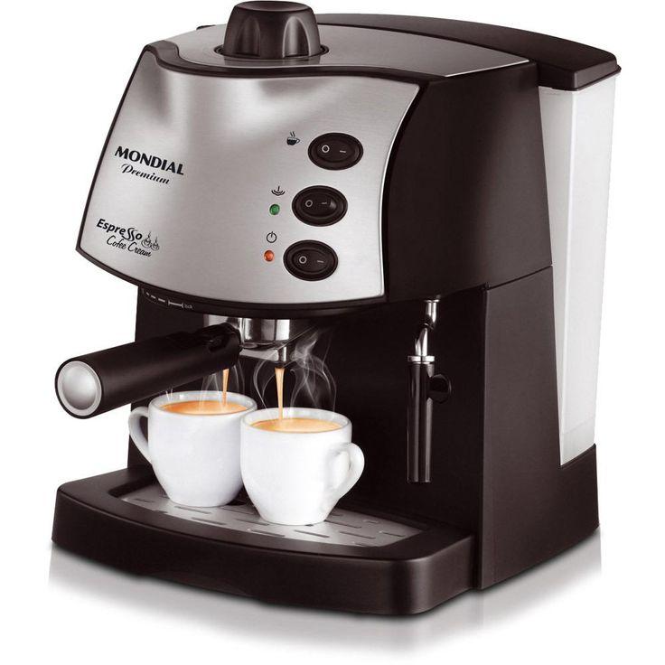Cafeteira Expresso Mondial Espresso - Shoptime.com
