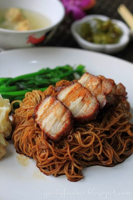 Eat Your Heart Out: Recipe: Dry Wonton Noodles (Konlo Wantan Mee) with Homemade Char Siu @Baby Sumo