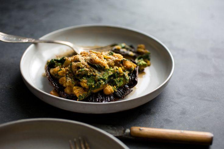 NYT Cooking: Stuffed Portobello Mushrooms