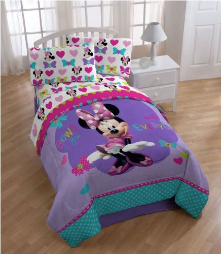 Minnie Mouse Twin Size Comforter Jay…