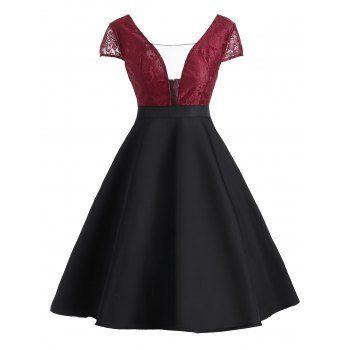 GET $50 NOW | Join Dresslily: Get YOUR $50 NOW!https://m.dresslily.com/vintage-lace-panel-see-thru-dress-product2141506.html?seid=6I5b1r4Gtbvbjh0pMvh3pOltMS
