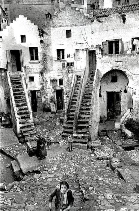 Matera Basilicata, Italy 1951 by Henri Cartier-Bresson