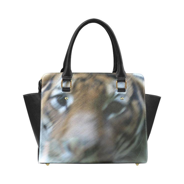 Face of Tiger Classic Shoulder Handbag (Model 1653)