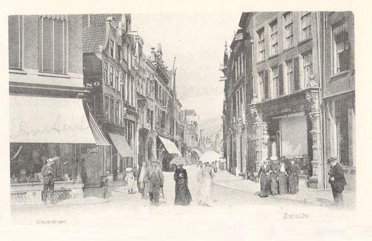Zwolle, Diezerstraat, about 1900
