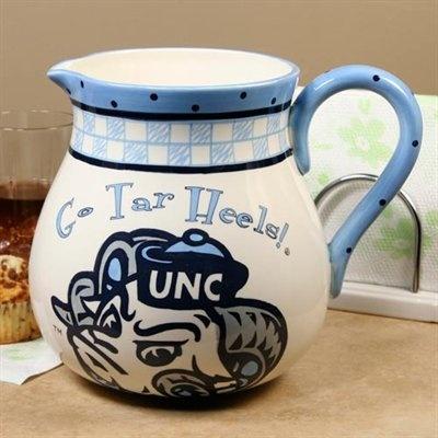 North Carolina Tar Heels (UNC) Game Day Ceramic Pitcher