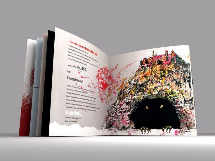 Książka dla dzieci Legenda o Smoku Wawelskim