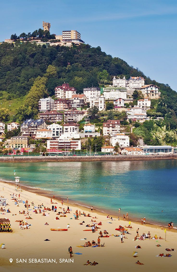 San Sebastian, one of Spain's top culinary destinations, is a 2016 European Capital of Culture.