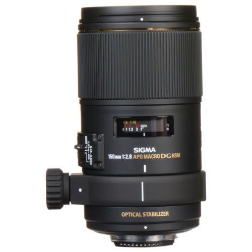 Sigma 150mm f/2.8 EX DG OS HSM APO Macro Lens For Nikon 106306