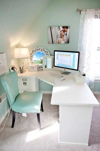 I'm a huge fan of these wrap-around/corner desks, I need all the space I can get!