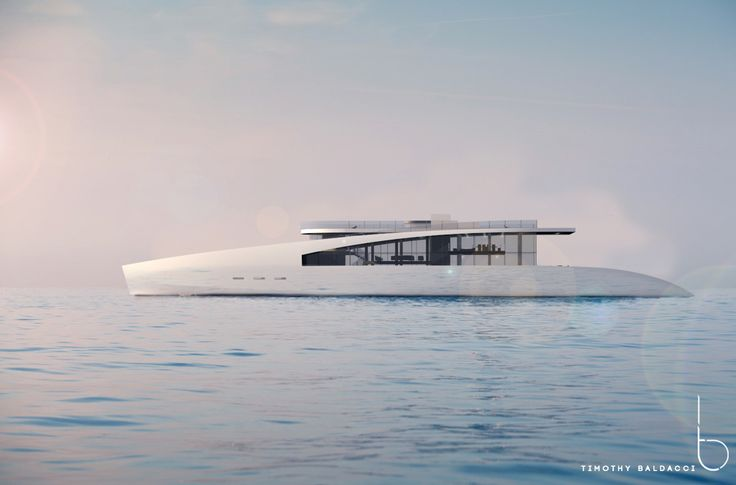 Called Ardea Alba, this gorgeous yacht looks exactly like a futuristic vessel, reminiscent of ancient times, imagined by Timothy Baldacci.