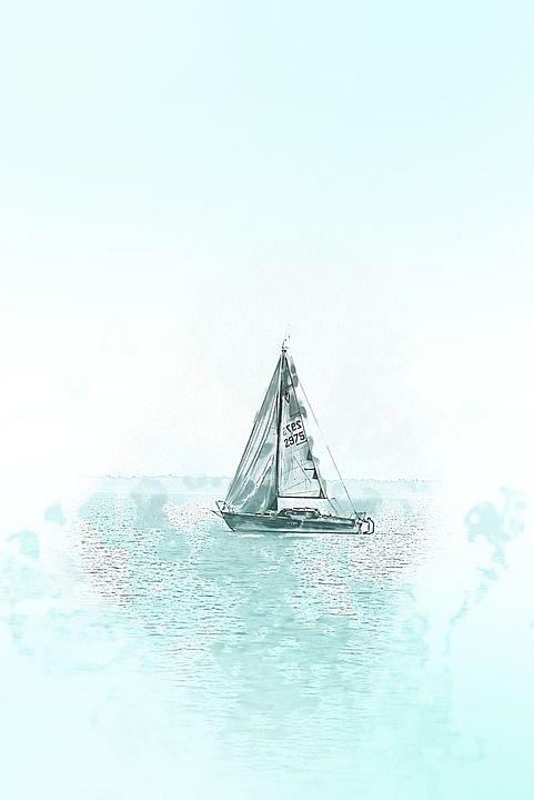 Lake, Sailing, Water, Summer, Wind