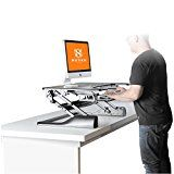 Height Adjustable Standing Desk Converter - Ergonomic Sit-Stand Dual-Monitor Workstation Riser - Black... HUSKK Height Adjustable Sit - Standing Desk   If you're reading this, you probably https://thehomeofficesupplies.com/height-adjustable-standing-desk-converter-ergonomic-sit-stand-dual-monitor-workstation-riser-black-medium/