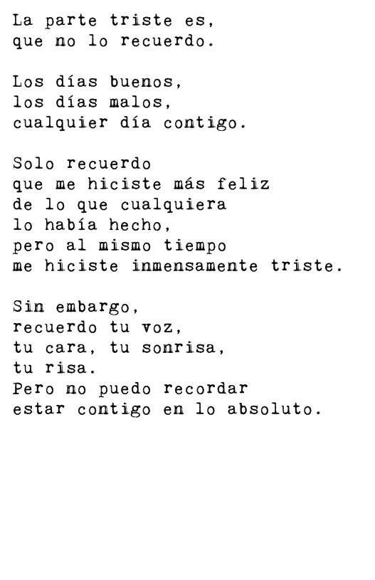 #triste #amor #ralacion #novios #ex #desamor #terminar #recordar #olvidar #teamo #enamorada #ilucion