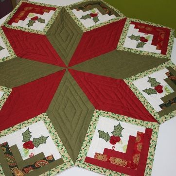 Patchwork Appliance Christmas Tablecloth