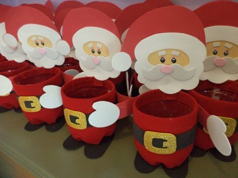 laboratori per bambini lavoretti natalizi natale babbo natale portapenne craft kids christmas santa claus