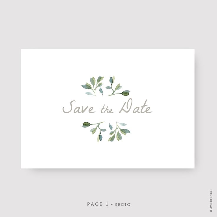 Event-of-Paper-save-the-date-mariage-fcouronne-de-feuilles-nature-champetre-pastille-vert-et-taupe-page-1-Mathilde-et-Paul.jpg (800×800) #weddingplanninginfographic